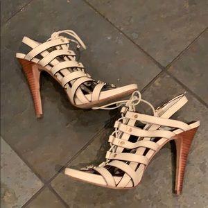 BCBG Lace Up Heels